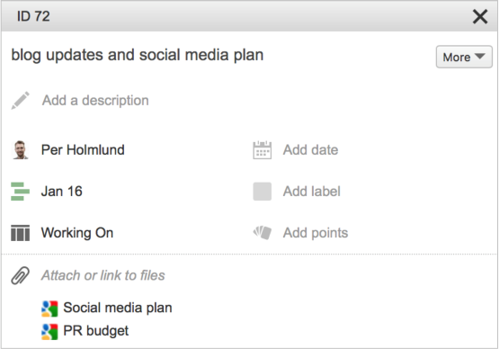 How the Google Drive integration works