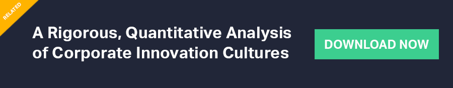 Quantifying a Culture of Innovation