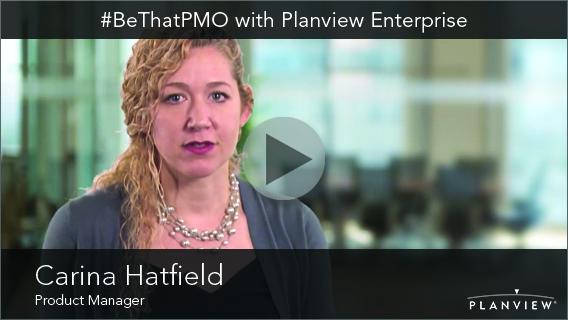Video: #BeThatPMO with Planview Enterprise One