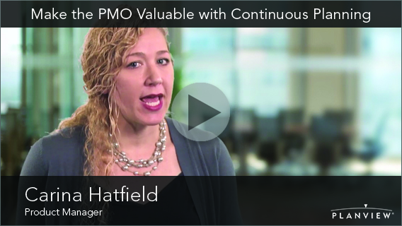 Video: Make the PMO Valuable with Continuous Planning