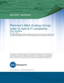 Planview's M&A Strategy brings order to hybrid IT complexity