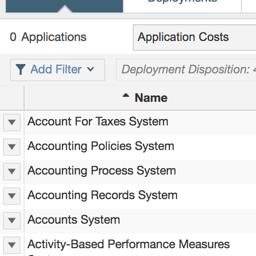 Manage your application portfolios