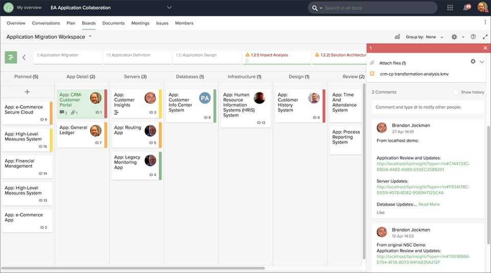 Facilitez la collaboration virtuelle au sein de l'équipe grâce à une solution centralisée, pour gagner en efficacité de travail