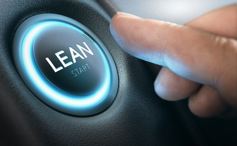 Lean methodology's success in the manufacturing process led to business applications.