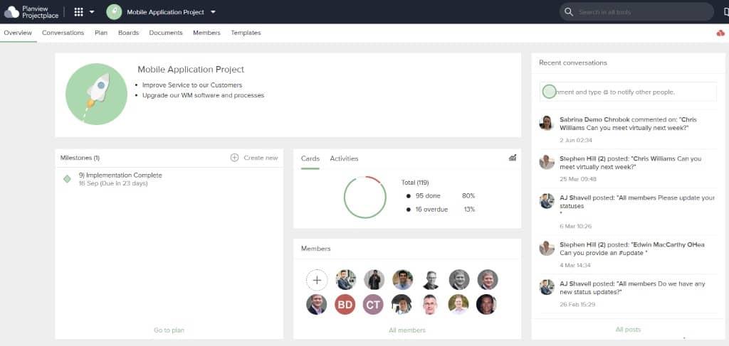 Bleiben Sie bei Projekten auf dem Laufenden, verteilen Sie den Workload angemessen und erhalten Sie mithilfe von Projektmanagement-Software die Berichte, die Sie benötigen.