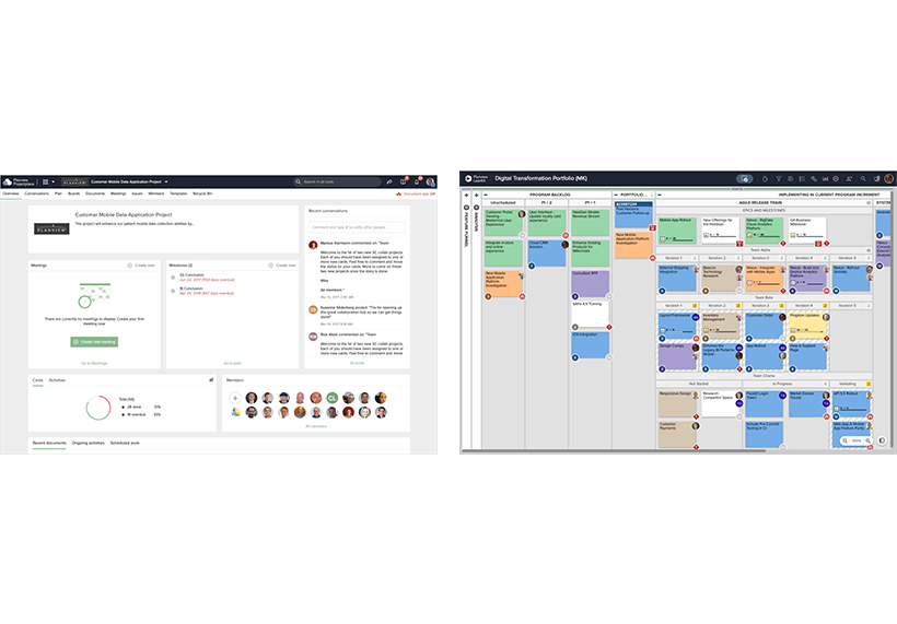 Agile teams make dependencies manageable by sequencing tasks, work, steps, and processes.